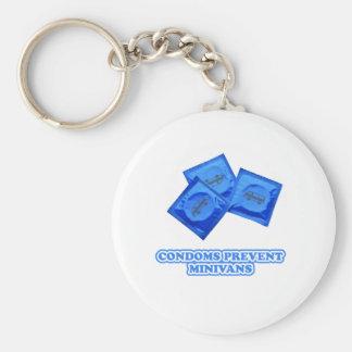 Condoms Prevent Minivans Key Chains