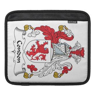 Condon Family Crest iPad Sleeves
