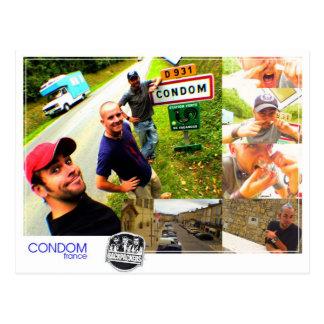 Condón - postal