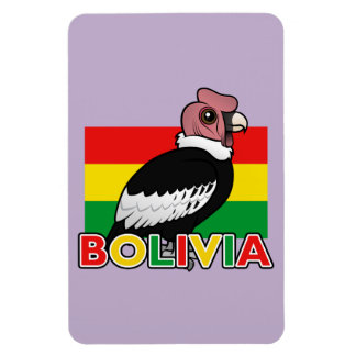 Cóndor andino boliviano imanes