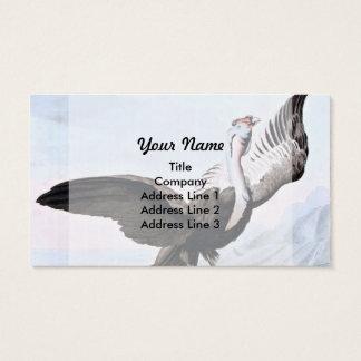 Condor Bird Wildlife Illustration Business Card