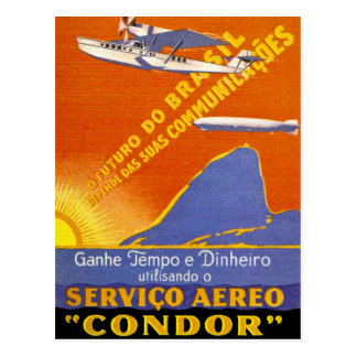Condor ~ Brazillian Air Service Postcards