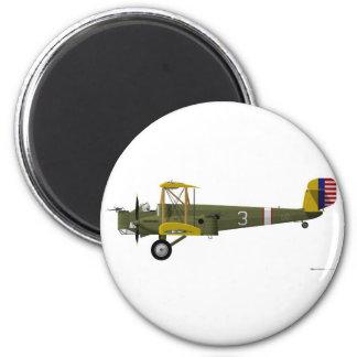 Cóndor de Curtiss B-2 Imán Redondo 5 Cm