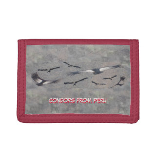 Condors from Peru Customizable Wallet