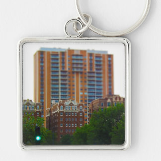Condos Along Brush Creek Country Club Plaza KC Keychain