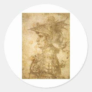 Condottiere Classic Round Sticker