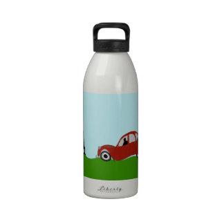 Conducción a París Botella De Agua