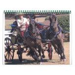 conducción de caballos calendario