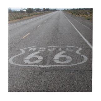 Conducción de la ruta 66 teja