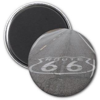 Conducción de la ruta 66 iman de frigorífico
