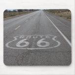 Conducción de la ruta 66 tapete de raton