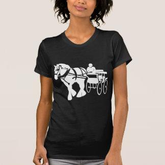Conducción del caballo de proyecto de Clydesdale Camiseta