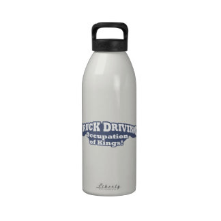 ¡Conducción del camión - empleo de reyes! Botella De Agua Reutilizable