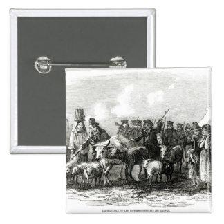 Conducción del ganado para el alquiler pin cuadrada 5 cm