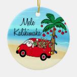 Conducción del ornamento hawaiano tropical del nav adorno para reyes