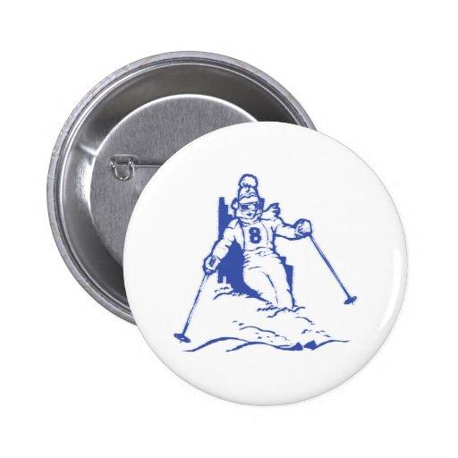 Conducen esquí skiing pin redondo 5 cm