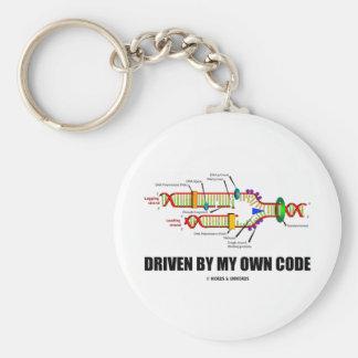 Conducido por mi propio código réplica de la DNA Llavero