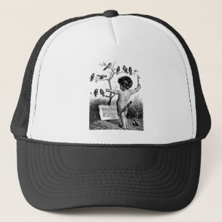 Conducting Bird Orchestra Trucker Hat