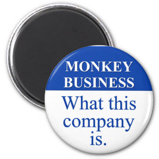Conducting Monkey Business (3) Magnet