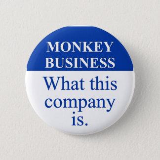 Conducting Monkey Business (3) Pinback Button