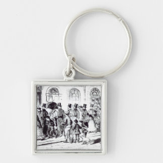 Conducting the Night Charges Keychain