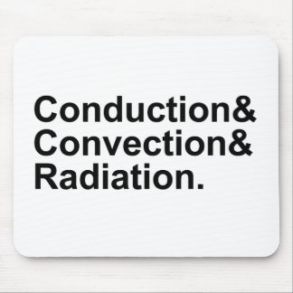 Conduction Convection Radiation | Heat Transfer Mouse Pad