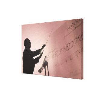 Conductor 2 canvas print