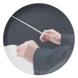 Conductor 2 melamine plate