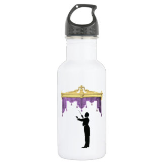 Conductor And Theater Curtain Water Bottle