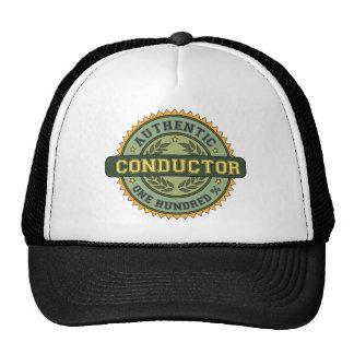 Conductor auténtico gorros