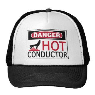 Conductor caliente gorra