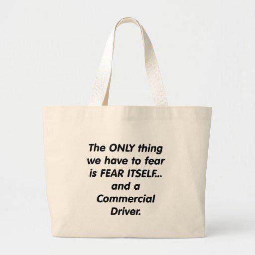 conductor commerical del miedo bolsas