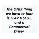 conductor commerical del miedo invitaciones personales