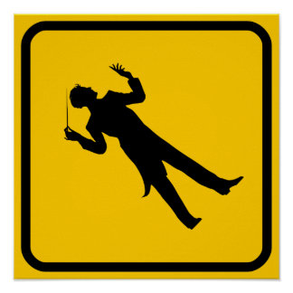 Conductor Crossing Poster