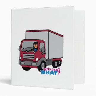 Conductor de camión - camión rojo