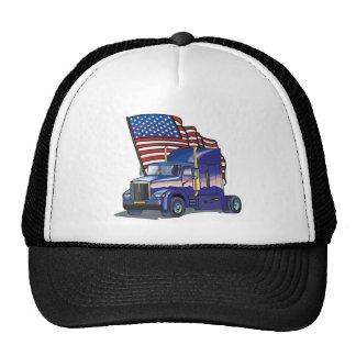 Conductor de camión de los E.E.U.U. Gorras De Camionero