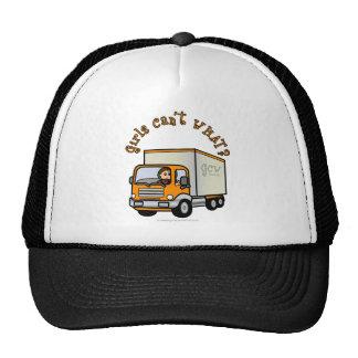 Conductor de camión de sexo femenino ligero gorras