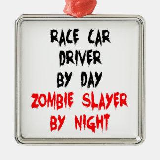 Conductor de coche de carreras del asesino del zom ornato