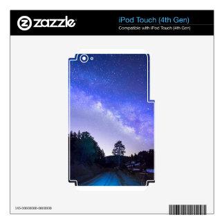 Conductor de la noche iPod touch 4G skins