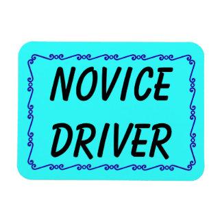 Conductor de novato imán flexible