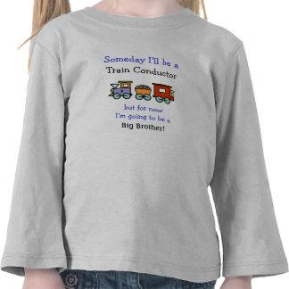 Conductor de tren/camisa de hermano mayor