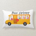 Conductor del autobús almohada