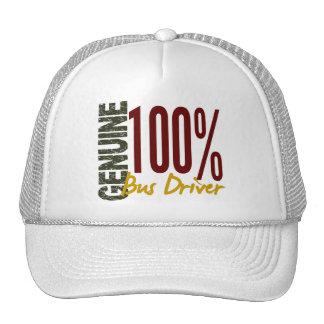 Conductor del autobús auténtico gorra