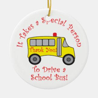 Conductor del autobús adorno para reyes