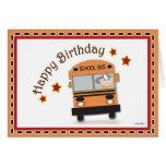 Conductor del autobús del feliz cumpleaños felicitaciones