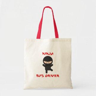 conductor del autobús del ninja bolsa tela barata