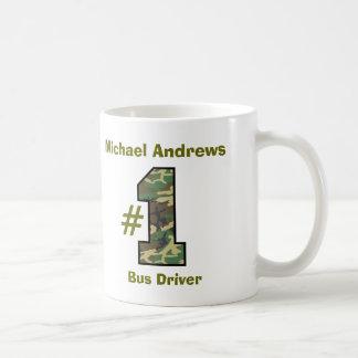 Conductor del autobús del número uno V36 Taza De Café