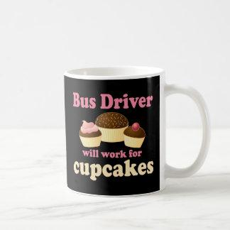 Conductor del autobús divertido taza de café