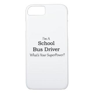 Conductor del autobús escolar funda iPhone 7
