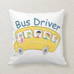 Conductor del autobús escolar - hembra cojin